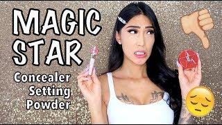 Jeffree Star MAGIC STAR Concealer & Setting Powder (First Impressions)