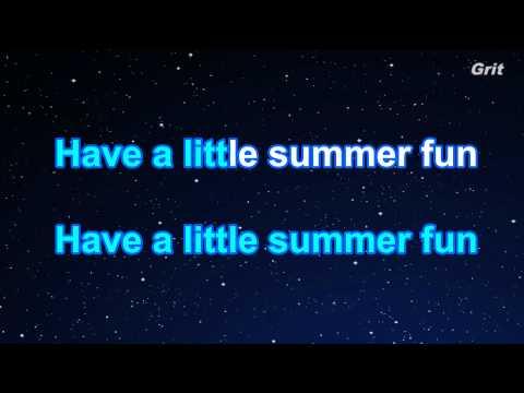 Summerboy - Lady GaGa  Karaoke【Guide Melody】