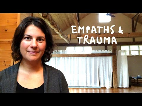 Is it Empathy Overload or Childhood Trauma?
