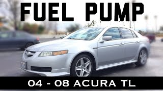 3G Acura TL Fuel Pump Removal Installation 2004 2005 2006 2007 2008 Location Replacement