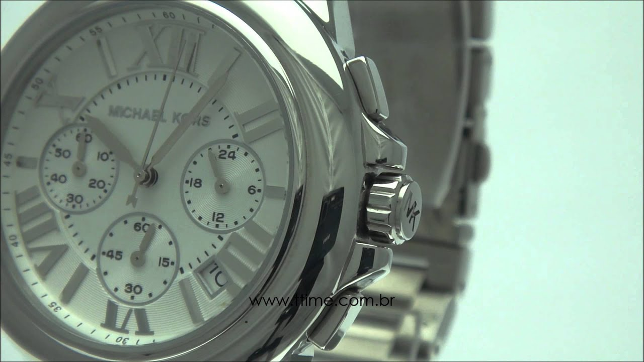 54fb74cd109 Michael Kors Camille prata OMK5719 N. ttime Relógios