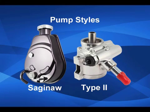Advantages of the Saginaw and Type II power steering pumps