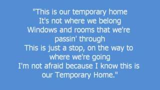 Temporary Home - Carrie Underwood (w/ lyrics)