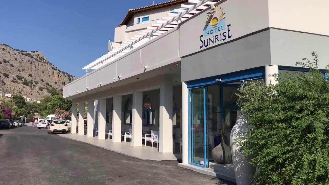 Отель Санрайз на острове Родос Греция