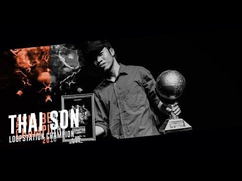THAI SON (VN)|Asia Beatbox Championship 2018 Loopstation Champion