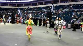 Teen Girls Jingle - Group 1 - Manito Ahbee 2011
