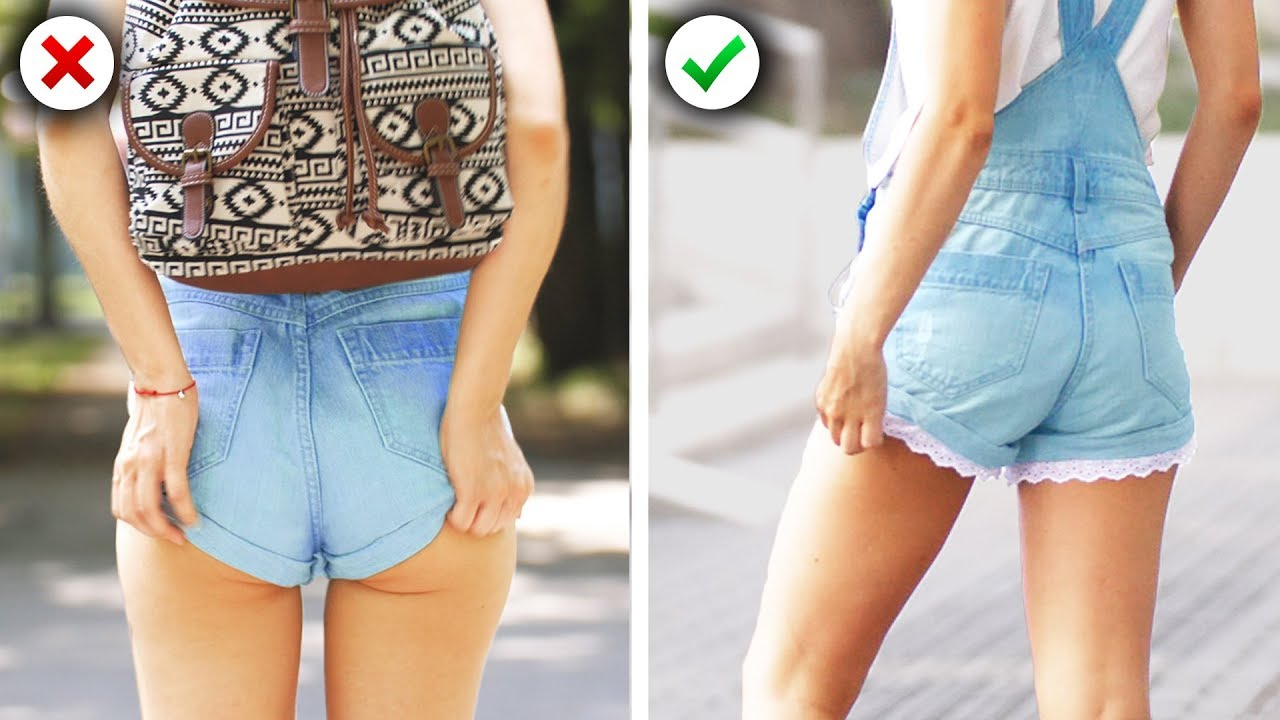 13 Easy School Girl Fashion Hacks and Back to School DIY Clothes Ideas by Crafty Panda 5