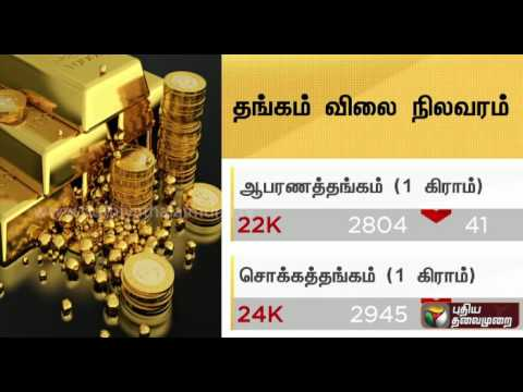 Gold and Silver rate today (24/11/2016)