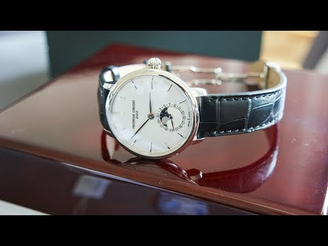Frederique Constant Slimline Moonphase(FC703S3S6) | Unboxing & First Impression