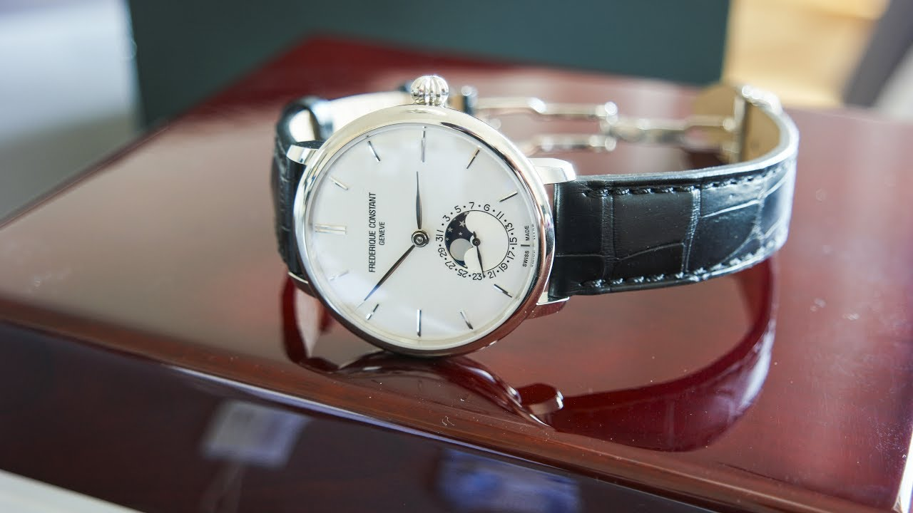 Frederique Constant Slimline Moonphase(FC703S3S6)  634f1416855a