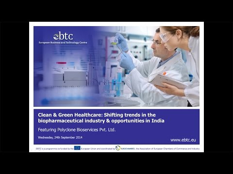 WEBINAR: Clean & Green Healthcare: Shifting trends in the bio-pharmaceutical industry in India