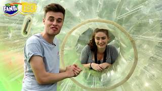 AmbzDT takes on #FantaRush's Forbing Challenge at Thorpe Park with Joe Tasker