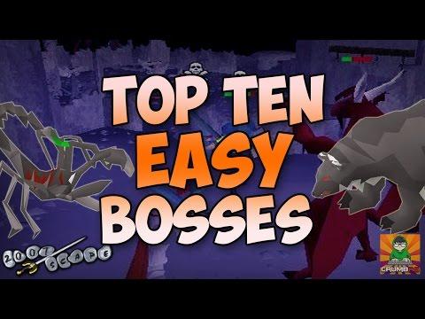 OSRS Top Ten EASY BOSSES
