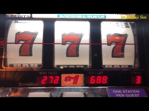 BIG WIN★BLAZING SEVENS $1 Slot Machine - 3 Reel Slot - Max Bet, Pechanga Casino