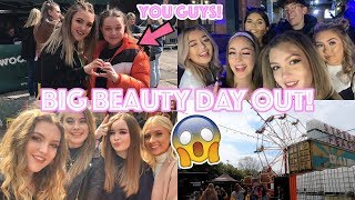 THE BUSIEST 3 DAYS OF MY LIFE (Literally)😱|| BIG BEAUTY DAY OUT VLOG!