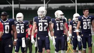 Gb lions adult american football won the european qualifier in september with ease, taking down dutch lions, czech republic, and russia national teams. t...