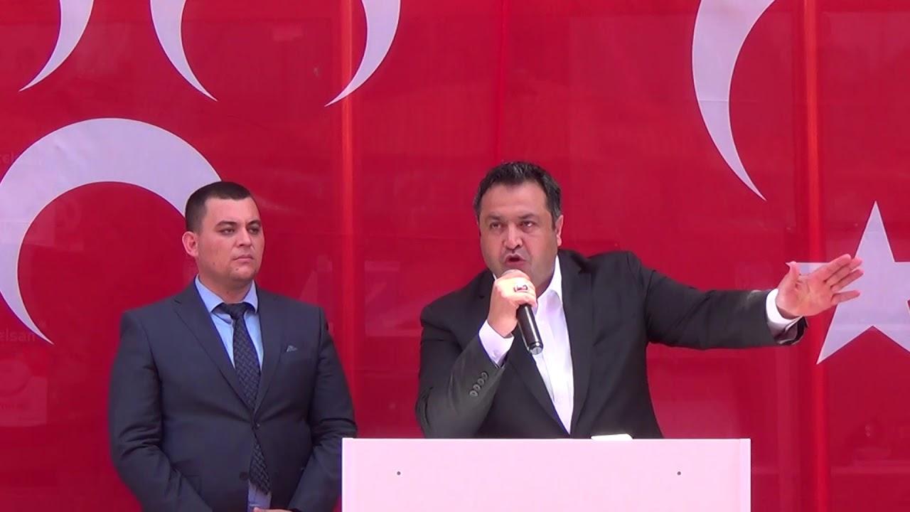 MHP Mersin Milletvekili Adayları Erdemli'de