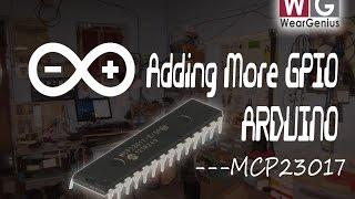 Arduino   Tutorial   MCP23017 Interfacing