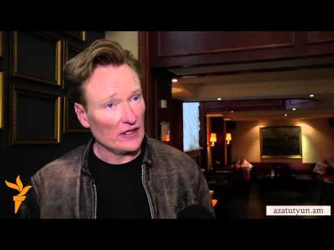 "Conan O'Brien Dives into Armenian Culture ""Head First"" - YouTube"