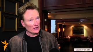 "Conan O'Brien Dives into Armenian Culture ""Head First"""
