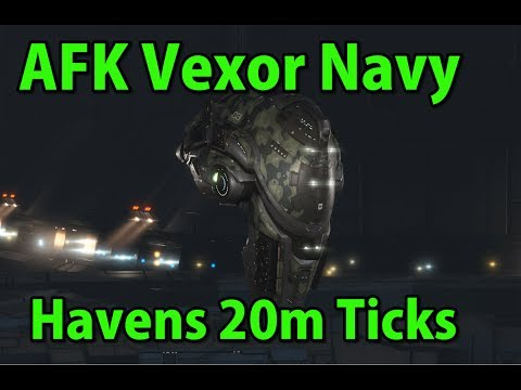 🔴LIVE  Vexor Navy Havens 20m Ticks - EVE Online Live Presented in 4k