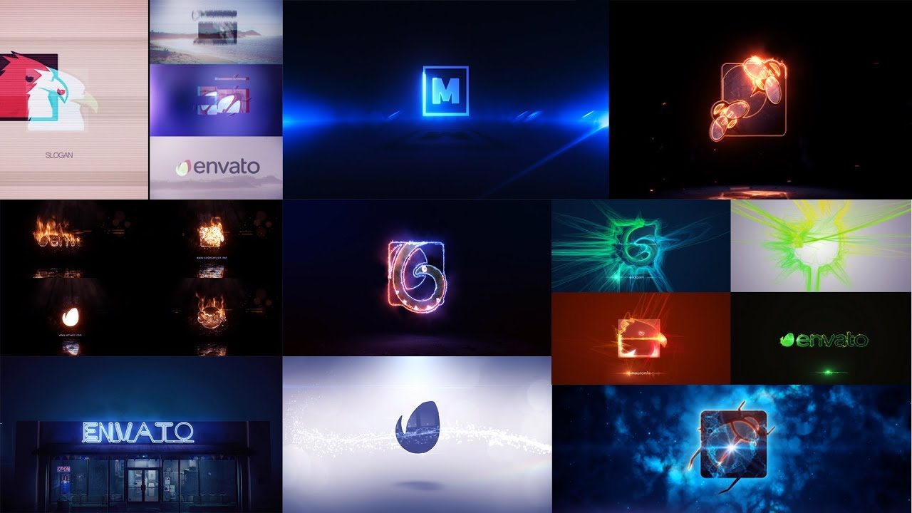 Top 10 intro logo Template Free After Effects Project Files 2018
