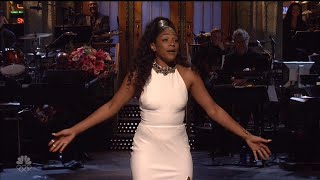 How Comedian Tiffany Haddish's Alexander McQueen 'SNL' Sketch is Inspiring Women