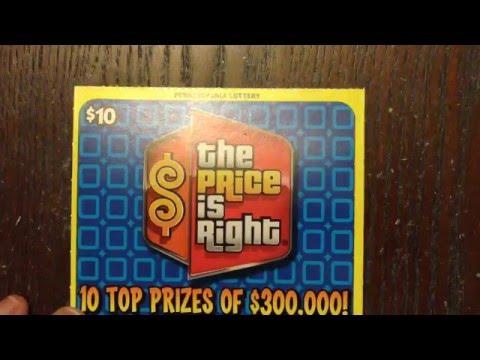 Part 3 Pennsylvania Lottery Scratch Off Tickets