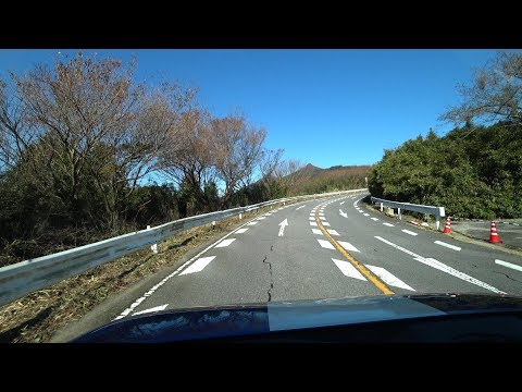 【Japanese Winding Roads】Driving the Omote Tsukuba Skyline