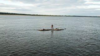 Я В ШОКЕ Половил рыбу на КЛОЧКЕ ЗЕМЛИ. Экстремальная рыбалка посреди Волги