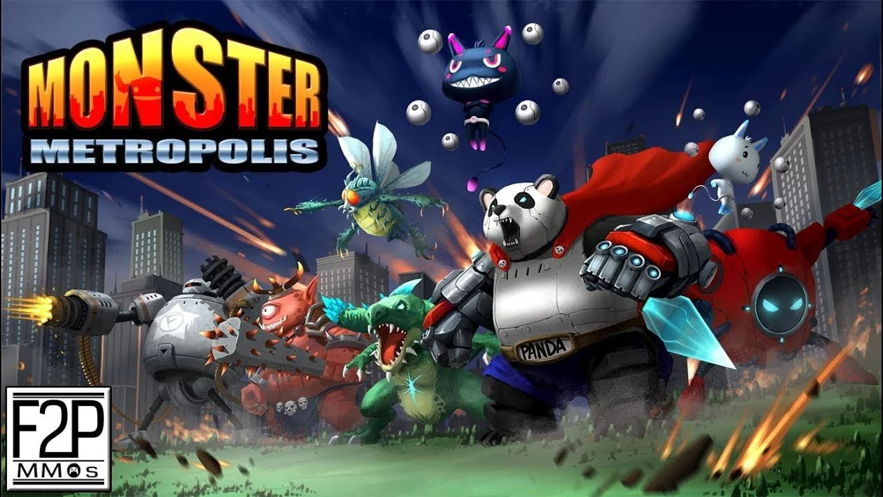 Monster Metropolis Gameplay Android / iOS