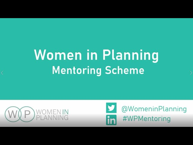 Women in Planning Mentoring Scheme