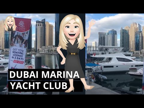 Dubai Marina Yachts 360 degree #shorts
