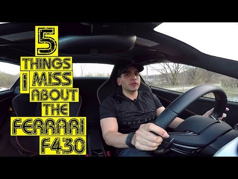 "5 Things I Miss Ferrari F430 ""Lamborghini Mustang"""