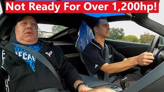 Newly Built 1,200hp C7Z06 Scares Owner During Test Drive!