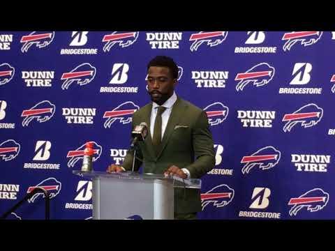 Buffalo Bills Week 7: vs Tampa Bay Bucs - Tyrod Taylor & LeSeam McCoy post game
