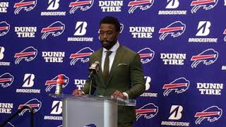 Buffalo Bills Week 7: vs Tampa Bay Bucs - Tyrod Taylor & LeSeam McCoy post game