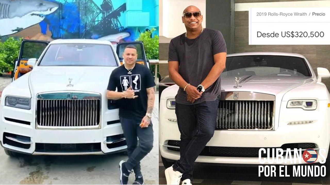 Para estar a la altura de Alexander Delgado de Gente de Zona, Jacob Forever se regala un Rolls-Royce