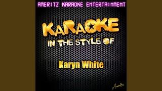 Secret Rendezvous (In the Style of Karyn White) (Karaoke Version)