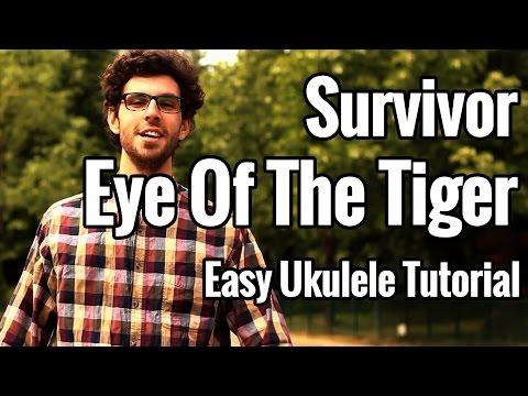 Eye Of The Tiger – Ukulele Tutorial – Easy Survivor Ukulele Lesson