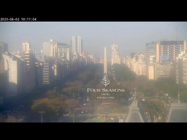 Four Seasons Hotel Buenos Aires - Live Camera