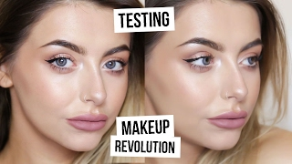 TESTING MAKEUP REVOLUTION - DOES IT WORK!? I COCOCHIC