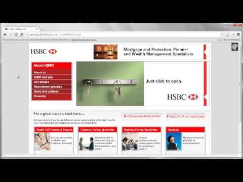 HSBC Job Application