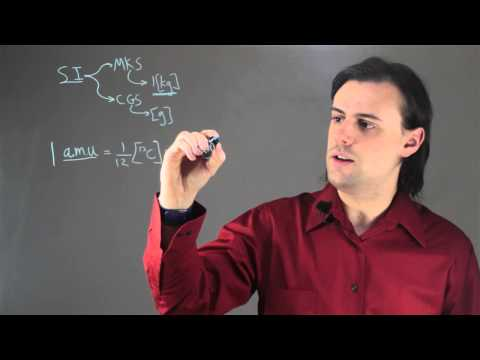 The Basic Unit for Mass : Physics Lessons