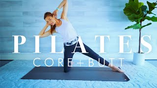 Фото Pilates Workout For Seniors \u0026 Beginners Abs \u0026 Butt On The Mat