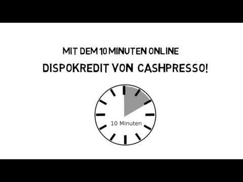 Cashpresso Minikredit - 1.500 € Kredit in 10 Minuten!