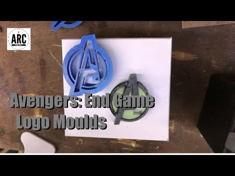How to Make AVENGERS Resin Moulds