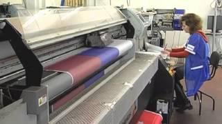 Сублимационная печать - процесс печати флагов (печать на ткани)(, 2014-03-23T19:06:23.000Z)