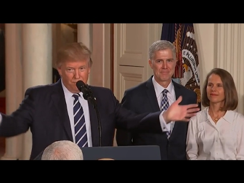 Trump Announces Neil Gorsuch as Supreme Court Nominee | ABC News