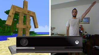 Minecraft: Kinect Controlled Charades w/ Sethbling, Etho, & Guude